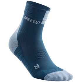 cep 3.0 Kurze Socken Damen blue/grey